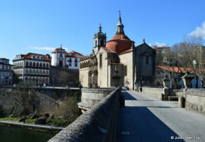 São Gonçalo bridge and church. Things to do in Amarante, Portugal