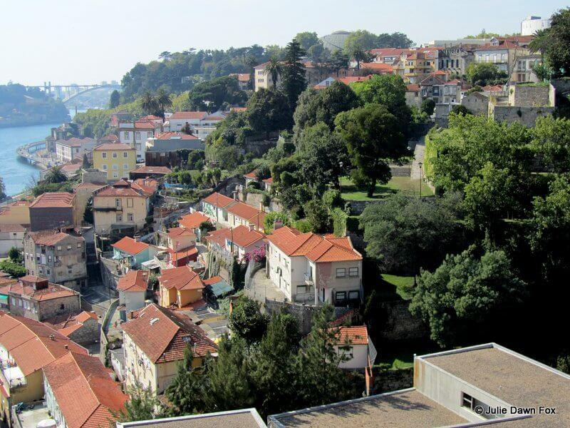 View of Porto from Virtudes