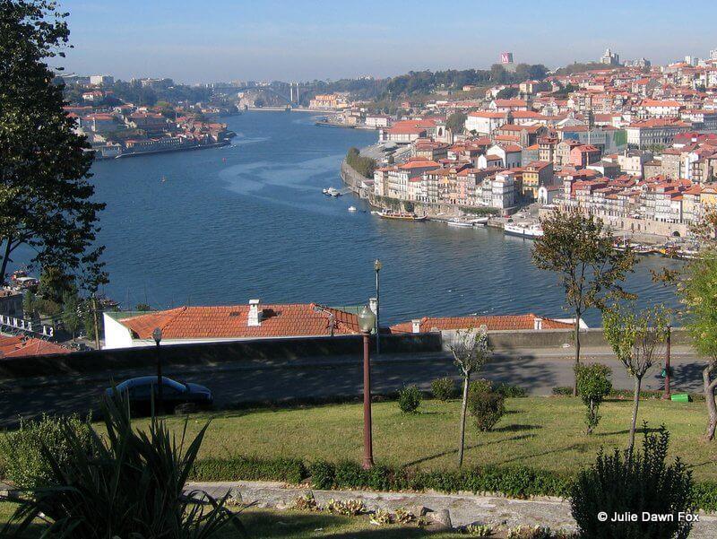 View of Porto from Jardim dos Morros.