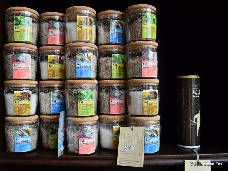Gourmet salt for sale at Despensa da Praça, Viseu