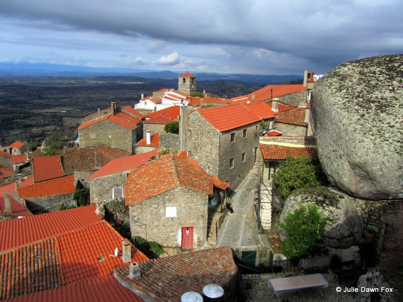 Granite and views, Monsanto historical village in Portugal