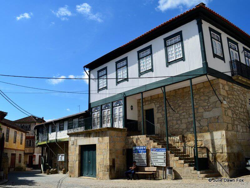 Typical village house, Salzedas wine village, Douro valley, Portugal