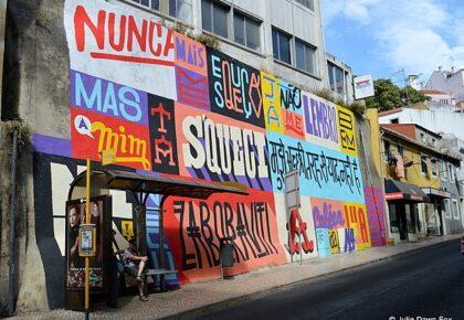 Urban art project by akaCorleone & Iamfromlx, street art, Lisbon