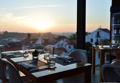 Sunset from Loggia Restaurant, Coimbra