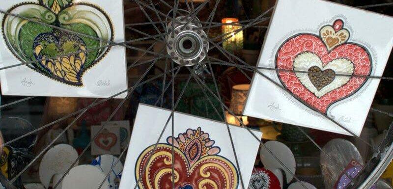 Love Story azulejos by Hazul and Costah, Porto