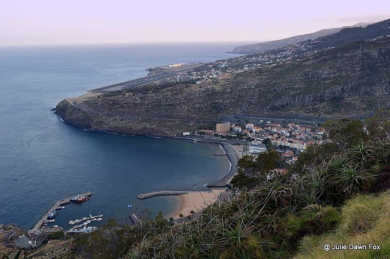 Machico, Madeira from Pico do Facho