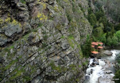 Cliffs and watermill, Senhora do Salto