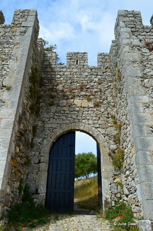 Porta do Sol, Sesimbra castle