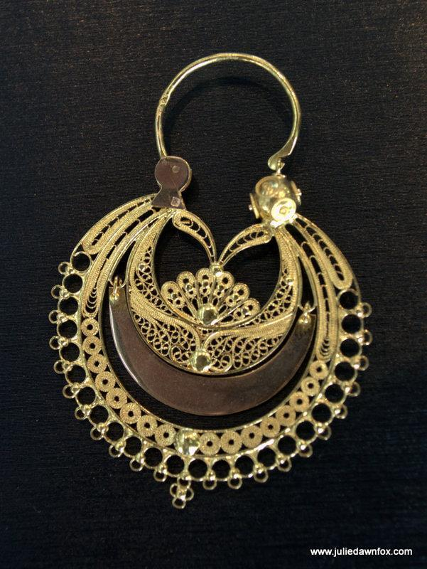 Arrecada, gold earring, Viana do Castelo