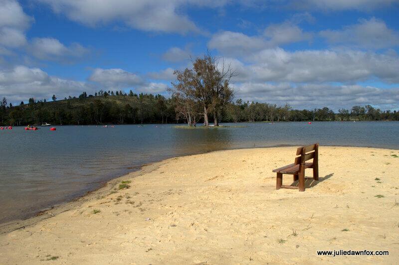 Empty. Tapada Grande River Beach, Mina de São Domingos, Alentejo
