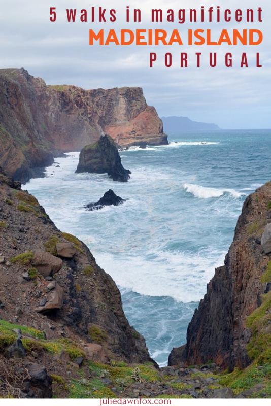 Rugged Madeira Coastline. 5 Magical And Easy Madeira Walks _ Julie Dawn Fox in Portugal
