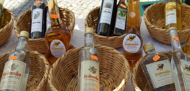 Medronho 'firewater'. A traditional Algarve spirit. Not for the fainthearted!