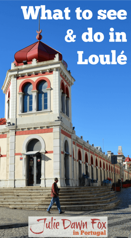 Neo-Moorish market. What to see and do in Loulé
