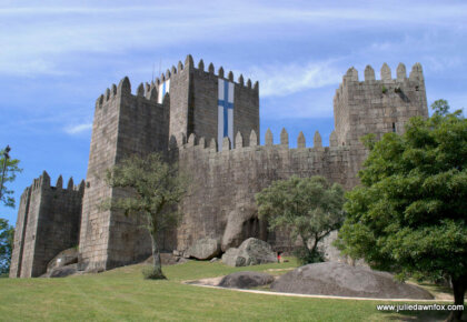 Guimarães castle. One of the main things to see and do in Guimarães