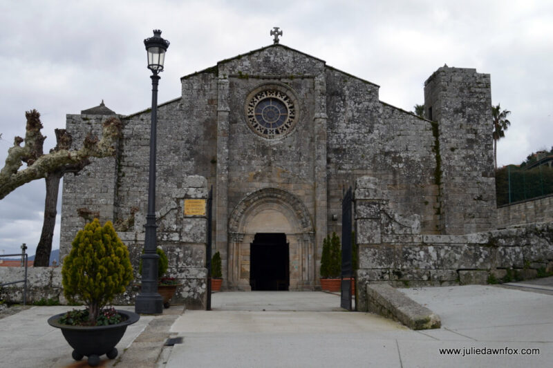 Santa Maria de Baiona church on the Portuguese Coastal Camino