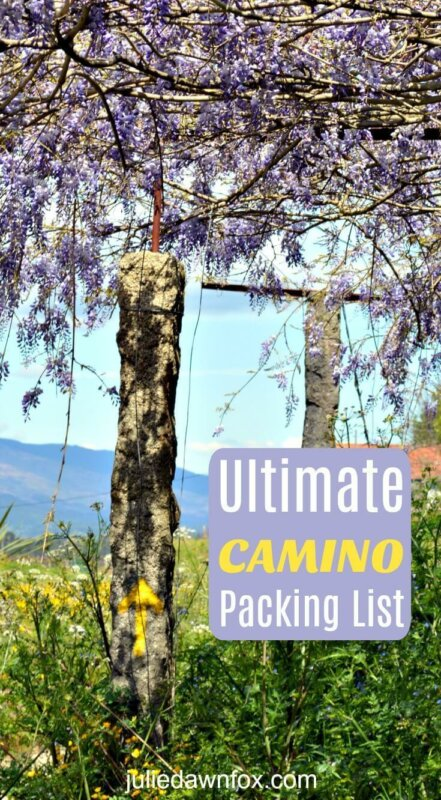 Way of St. James packing list