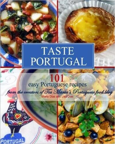Taste Portugal Portugese recipe book by Maria Dias and Lisa Dias