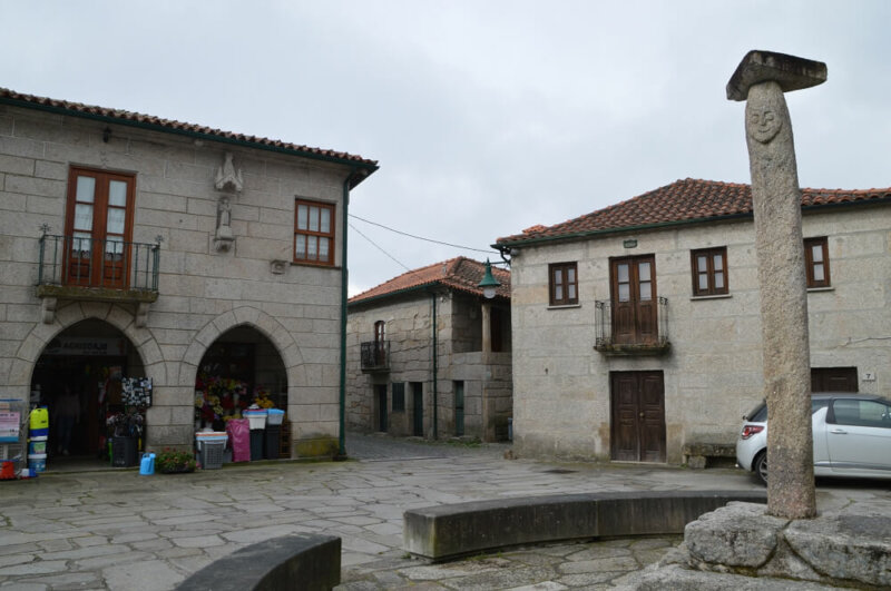 Main square, Soajo village, Peneda-Gerês National Park