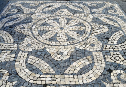 Pretty pavements Velas, São Jorge island