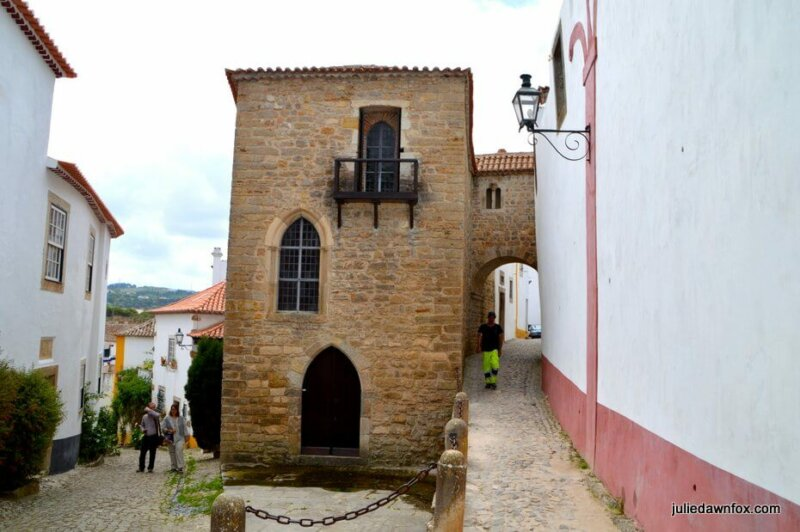 Torre de Maneys. One of many charming guesthouses in Obidos