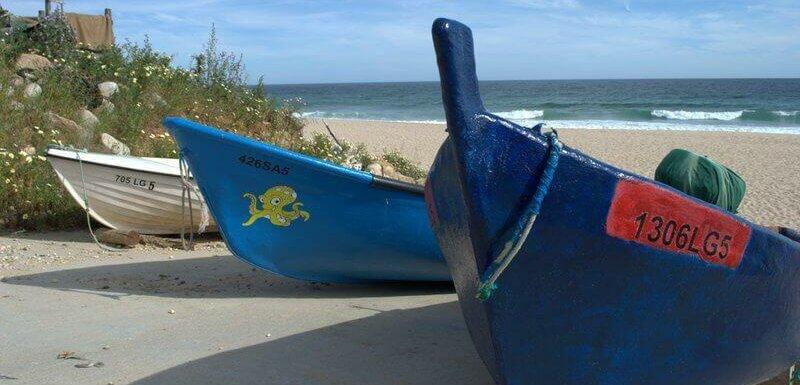 Fishing boats, Salema, Algarve