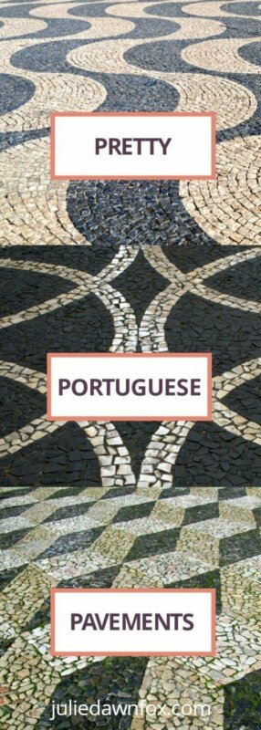Walk on art. Pretty Portuguese pavements. Calçada Portuguesa from all around Portugal to love or hate.