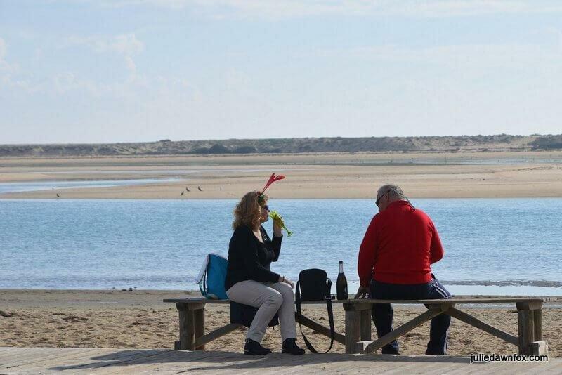 Christmas on the beach, Fuseta, Algarve