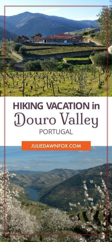 Douro Walking holiday, Portugal. Views of vineyards, landscapes and a Douro winery