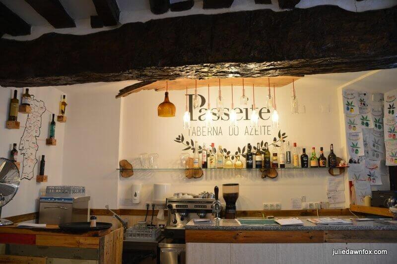 Passeite, Olive oil specialist restaurant in Coimbra