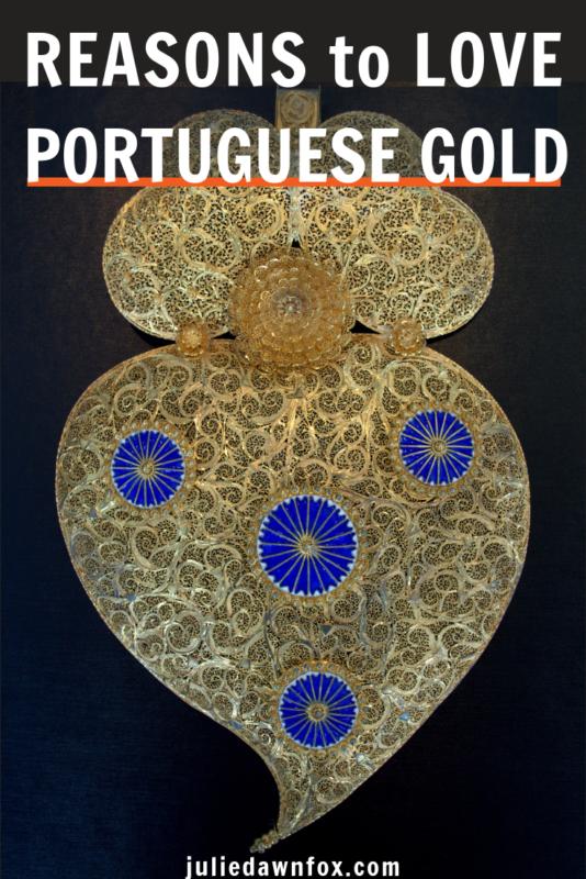 Gold filigree heart. Gold In Portugal - Superior Quality And Fine Filigree Jewellery _ Julie Dawn Fox in Portugal