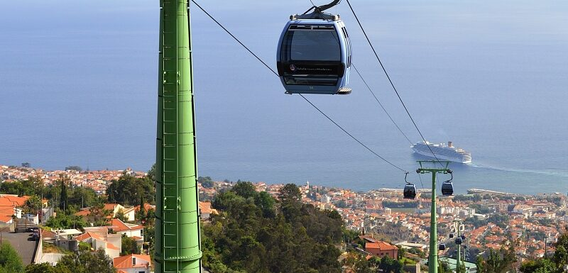 Monte cable car. Things to do in Funchal, Madeira Portugal