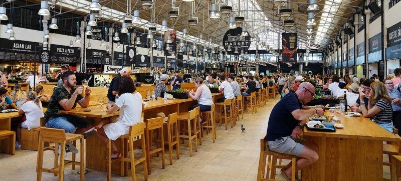 Mercado da Ribeira Lisbon. Photo by rmac8oppo via Pixabay