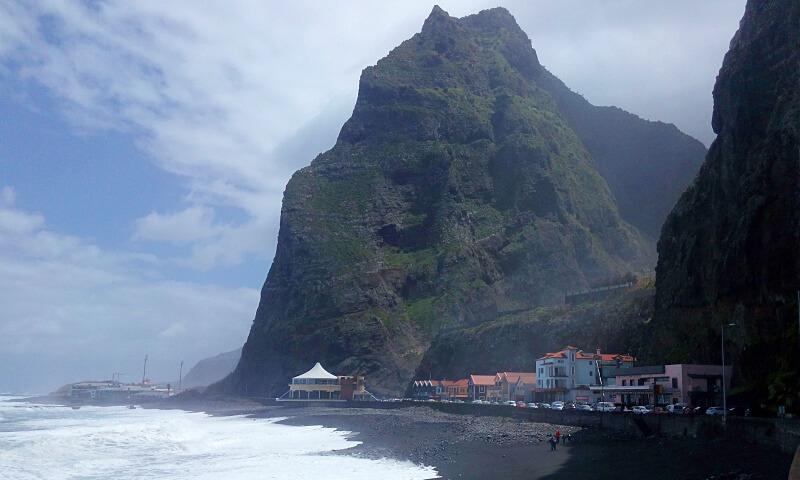 São Vicente beach, Madeira