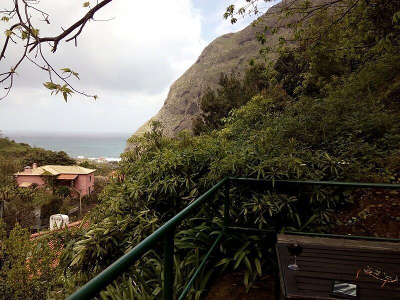 View from O Refugio, São Vicente, Madeira