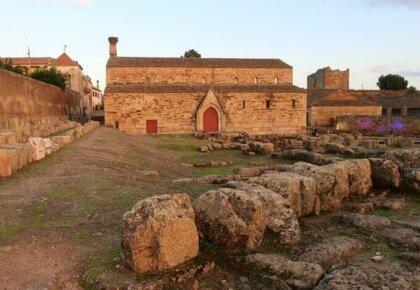 Santa Maria church and cathedral and Roman remains, Idanha-a-Velha
