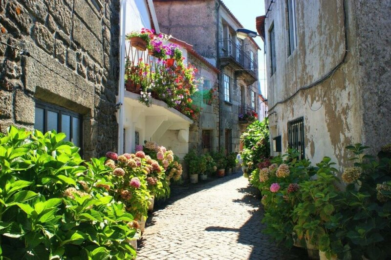 Jewish quarter of Trancoso, Portugal