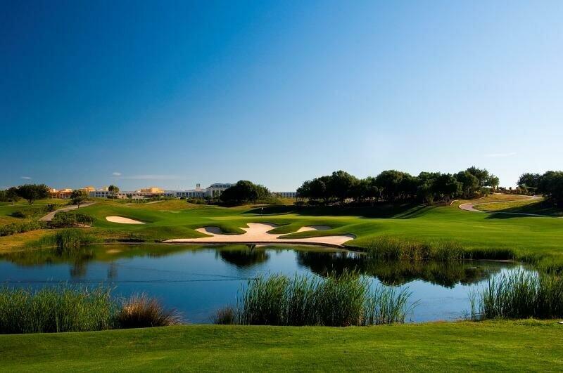 Victoria golf course, hole 13