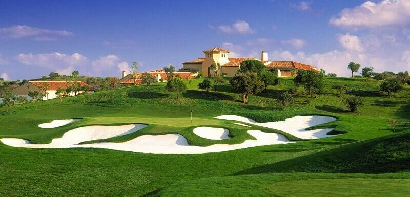 Monte Rei Golf course, 9th hole