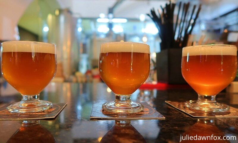 Craft beer on a Porto food tour