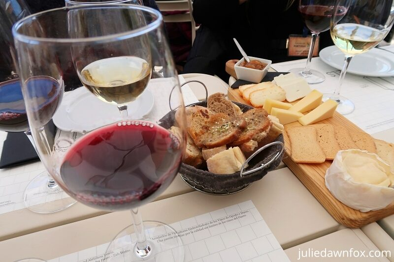 Portuguese cheese and wine to round off a Porto food tour