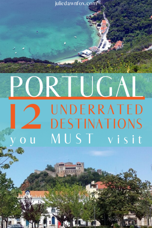 Cove and hilltop castle village. 12 Underrated Destinations In Portugal Worth Adding To Your Itinerary _ Julie Dawn Fox in Portugal