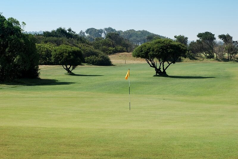 Oporto golf course. Second hole