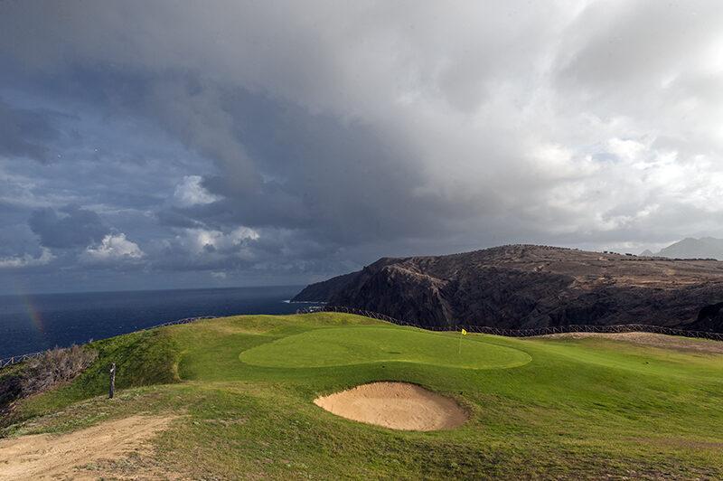 Porto Santo Golf Course, Madeira Islands. Photo by Peter Corden