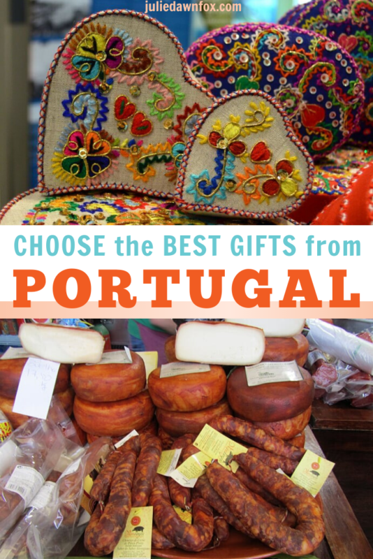 Heart shaped boxes. Cheese and sausage.Looking for a great souvenir of Portugal to buy for a loved one? Going to Portugal and wondering what to get as gifts for friends? Either way, this detailed insider guide tells you all you need to know about what there is...and in some cases, what to avoid. The rest is down to you or the taste of the person you're buying for. Read on to find out more!