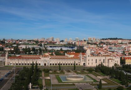 Things to do in Belém, including Praça do Imperio and Jeronimons Monastery