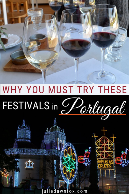 Wines. Illuminated palace. Portugal has a host of fairs and festivals for every season, and it can be hard to choose which one to see. This expert guide tells you all you need to know about the very best. Take in quaint traditional costumes, weird and wonderful masks, delicious gastronomy and wine, glittering lights or uplifting music...read on: the choice is yours!