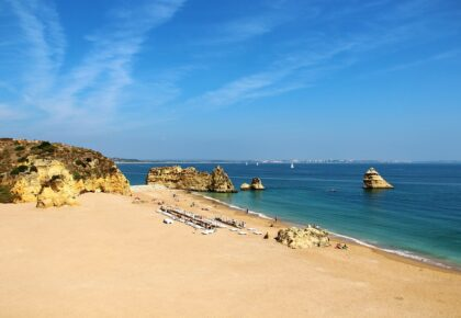 Dona Ana beach, Algarve, Portugal. Insider tips for your Algarve vacation