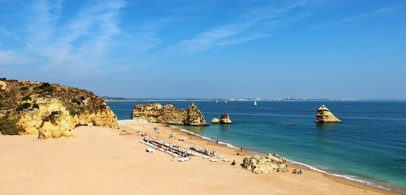 Dona Ana beach, Algarve, Portugal. Insider tips for your Algarve vacation