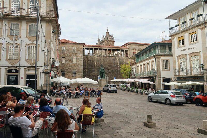 Praça Dom Duarte, Viseu Portugal