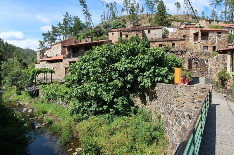 Água Formosa schist village, central Portugal